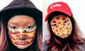 加拿大女子秀神奇化妆术 人脸变快餐