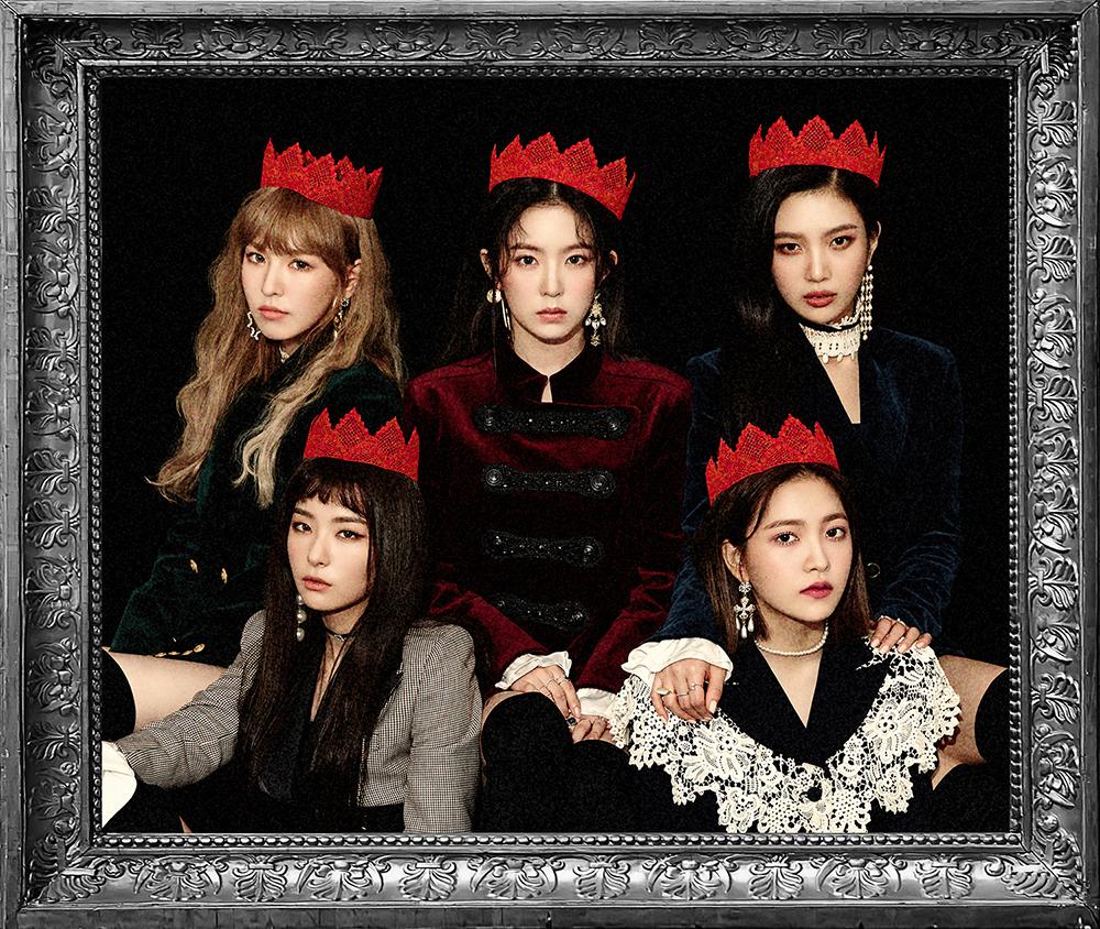 Red Velvet正规2辑继预售突破10万张后 再登音源榜首位