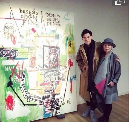 周杰伦晒了一副妈妈的画,叶惠美女士厉害了!