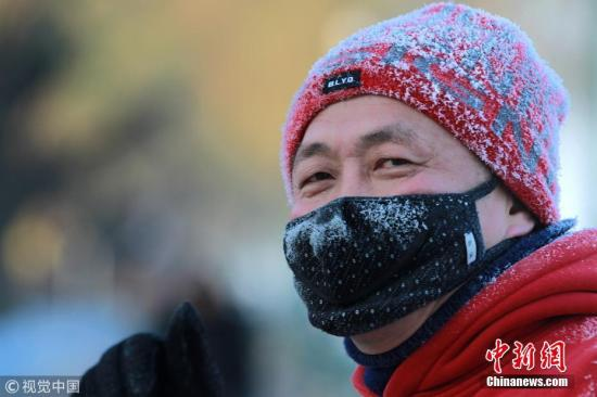 冷空气影响北方地区 华北中南部、黄淮等地有霾