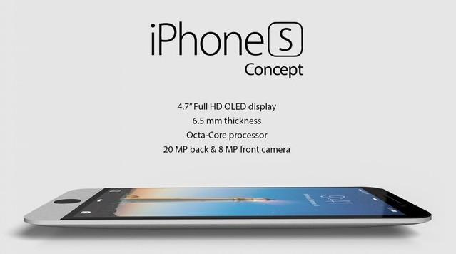 苹果新机iPhone S渲染图曝光:设计类似iMac