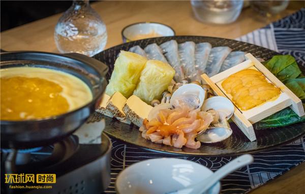 青久日式料理首推冬日海胆火锅 暖身又暖心