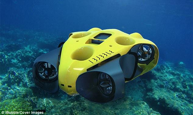 水下高清拍摄无人机 潜水爱好者的福音