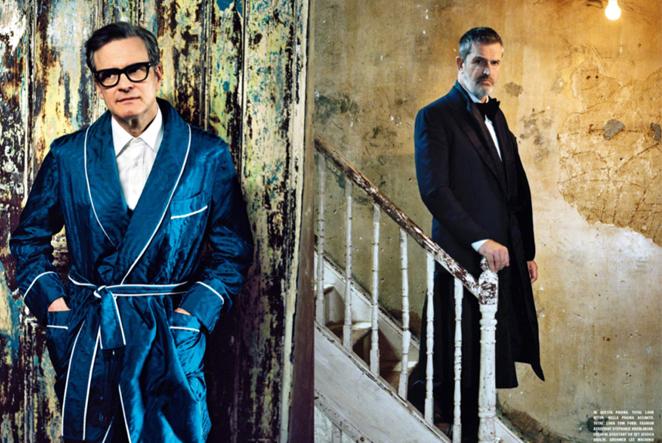 Colin Firth&Rupert Everett