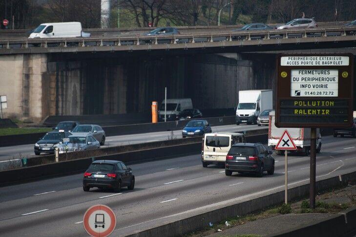 """治理大气污染 巴黎市""""反汽车""""计划时间表出炉"""