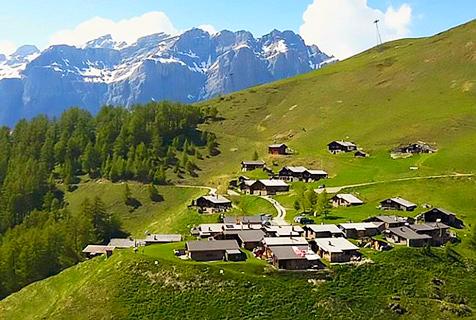 瑞士山村人口锐减 发迁入费吸引人口