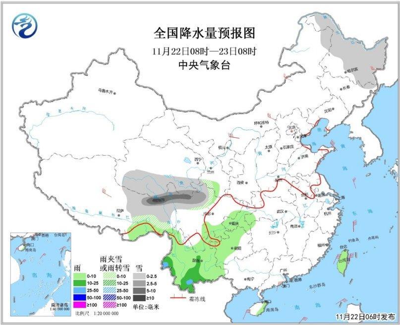 冷空气来袭北方局地气温下降8℃ 京津冀雾霾减弱消散