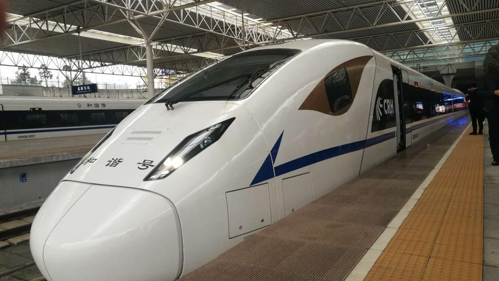 西成高铁进入全线拉通空载模拟运行阶段成都到西安仅需4小时
