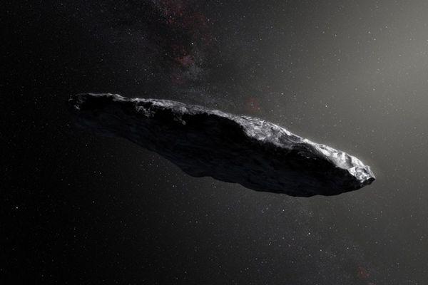 太阳系迎来首个星际访客 小行星形状怪异