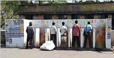 印度7.32亿人无厕所可用 排成一队可绕地球四圈多
