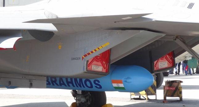 战力大增?印军苏30战机成功发射布拉莫斯导弹