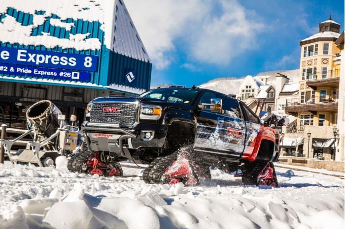 征服山路和田野 GMC最新终极雪地概念车亮相