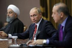 土俄伊三国总统索契举行叙问题三方会谈