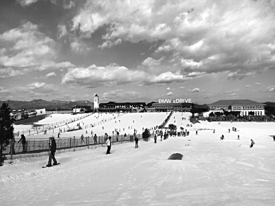 京城滑雪场开门迎客 17-18雪季正式开启
