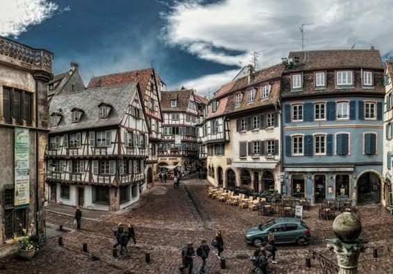 寻味16世纪复古情怀 法国小镇科尔马