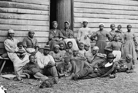 旧照揭露19世纪美国贩卖黑人奴隶历史
