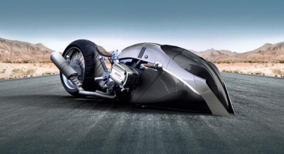 设计师为宝马打造概念摩托BMW R1100R KHAN