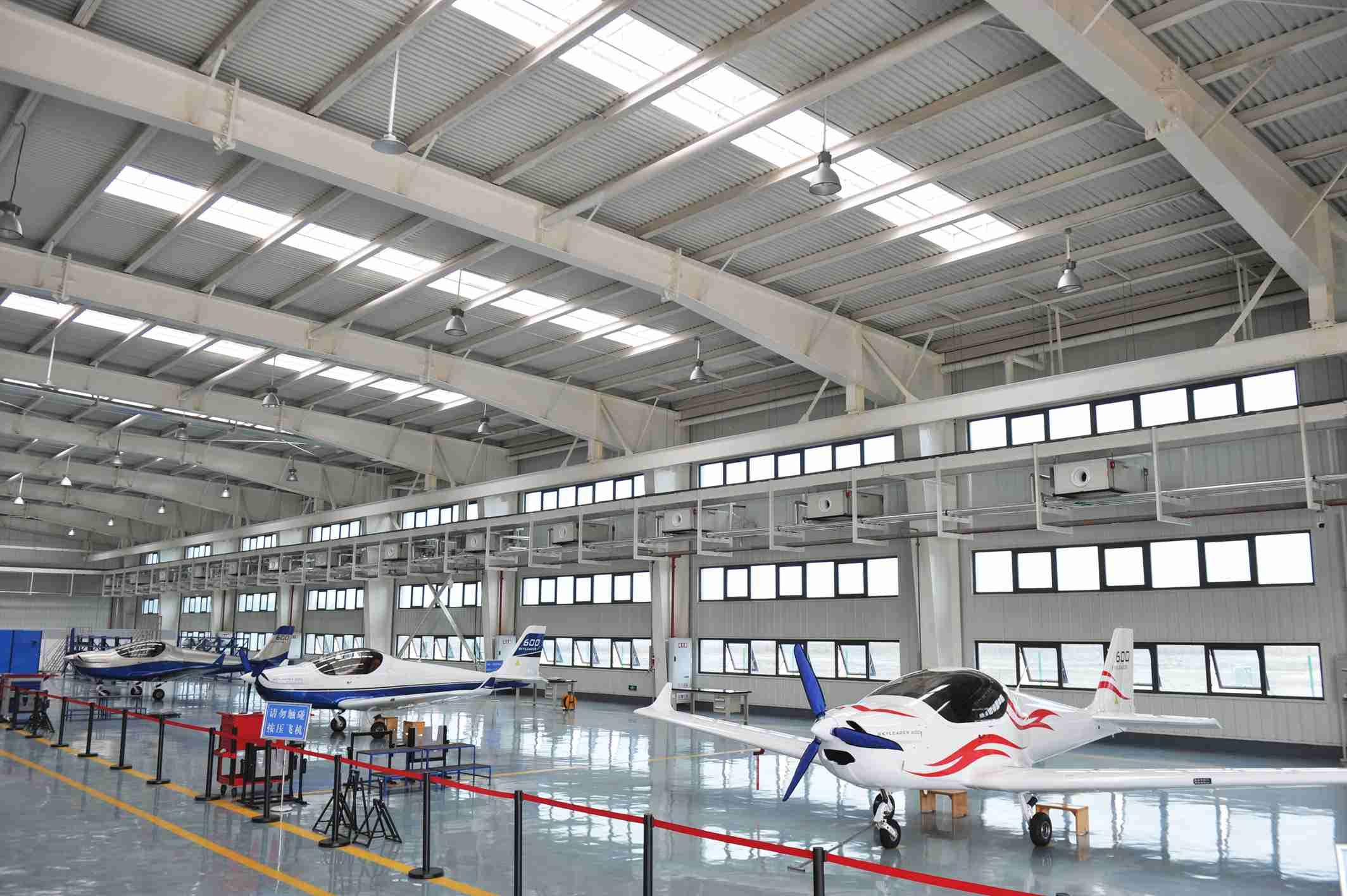 自贡航空产业园成老工业城市产业转型升级示范区