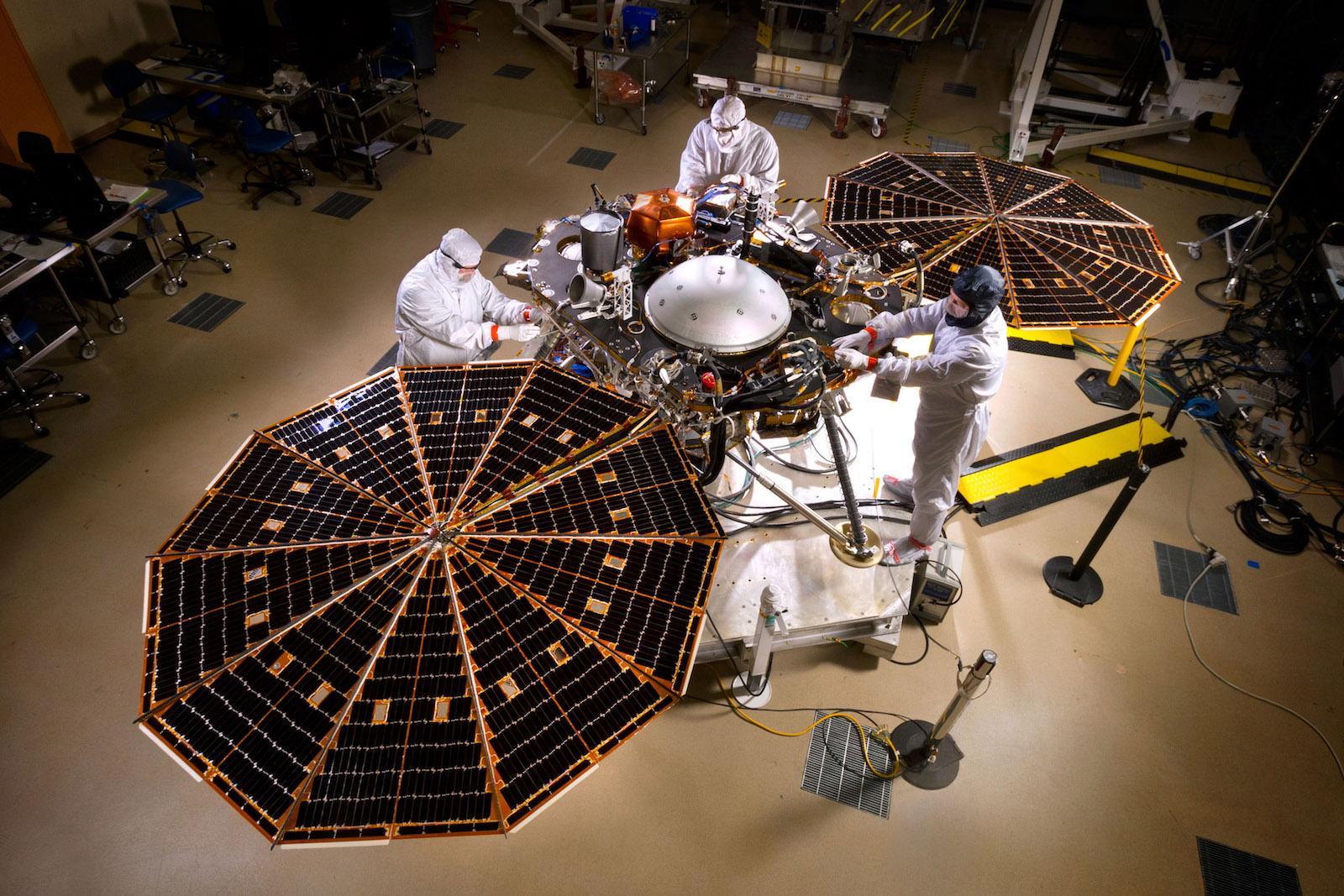 InSight号火星探测器完成最终测试 明年前往火星