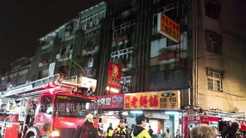 台湾新北出租房大火9死2伤 警方逮捕疑似纵火男子