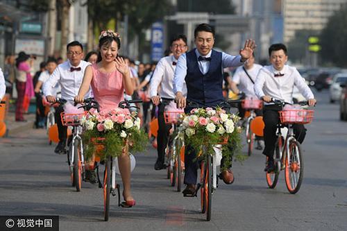共享单车催生全新商圈链 90后成为出行主力群体
