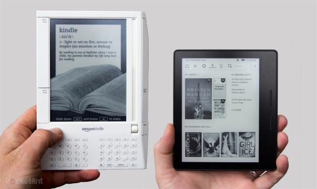 亚马逊Kindle的发展史