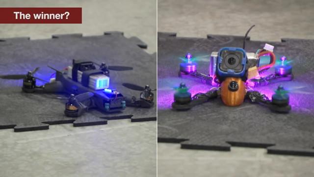 NASA推无人机竞赛:人类靠灵活度险胜!