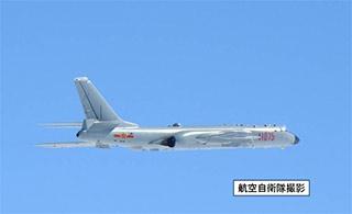 6天内中国空军3次飞越宫古海峡