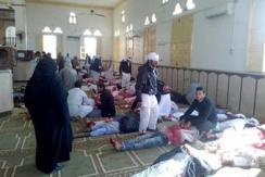 埃及西奈半岛清真寺遭袭击 已致235死