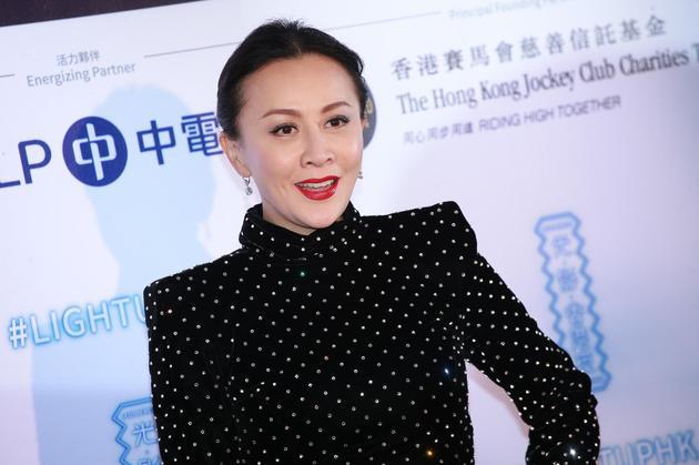 刘嘉玲否认怀孕:太大的玩笑 要生也找人代生