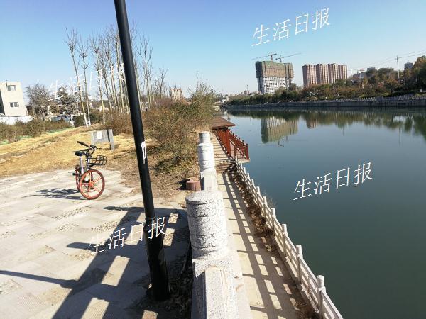 男子把共享单车扔下河:勾住衣服 摔骨折