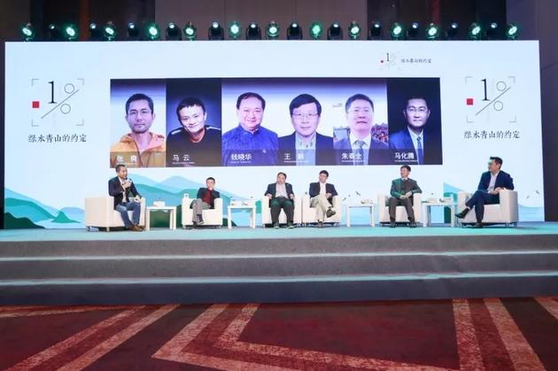 马云马化腾畅谈公益:我们生下来就应该做这些事