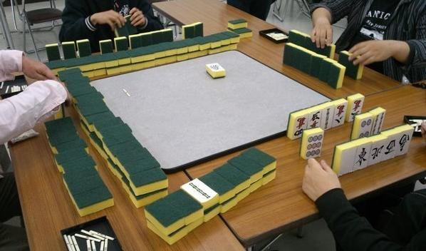 日本改良无噪音麻将 中国网友:这是刷碗海绵!