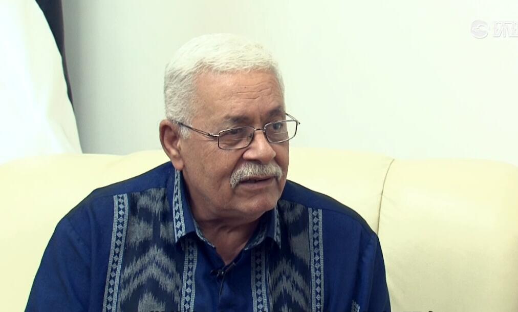 """巴勒斯坦驻华大使:坚定支持""""一带一路""""倡议"""