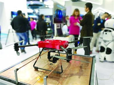 中国移动全球合作伙伴大会举行 网联无人机受瞩目