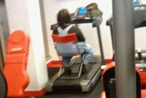健身房里的怪人们