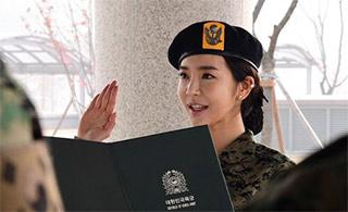 """韩国""""性感金刚芭比""""进军队训练"""