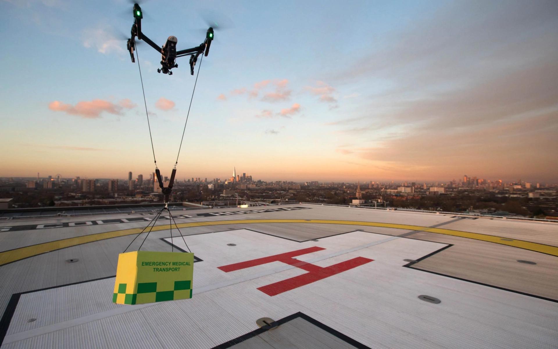 英国2019将在5城市启用无人机 为城镇提供公共事业服务