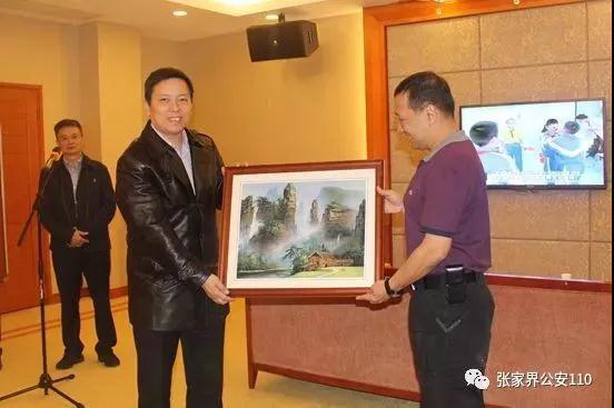 泰国警察总署考察团到湖南张家界开展警务交流