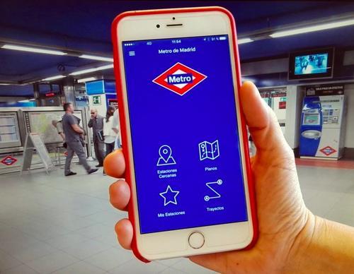 西媒:马德里地铁App推延误提醒功能 提供中文服务