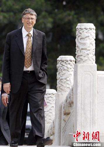 媒体:当选中国工程院院士后 比尔盖茨将为中国做什么?
