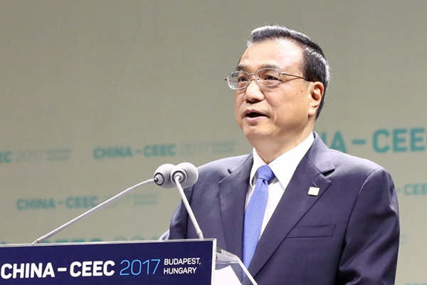 李克强总理出访图集(2017年11月27日)