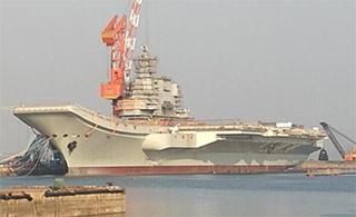 国产航母进展:相控阵雷达已安装