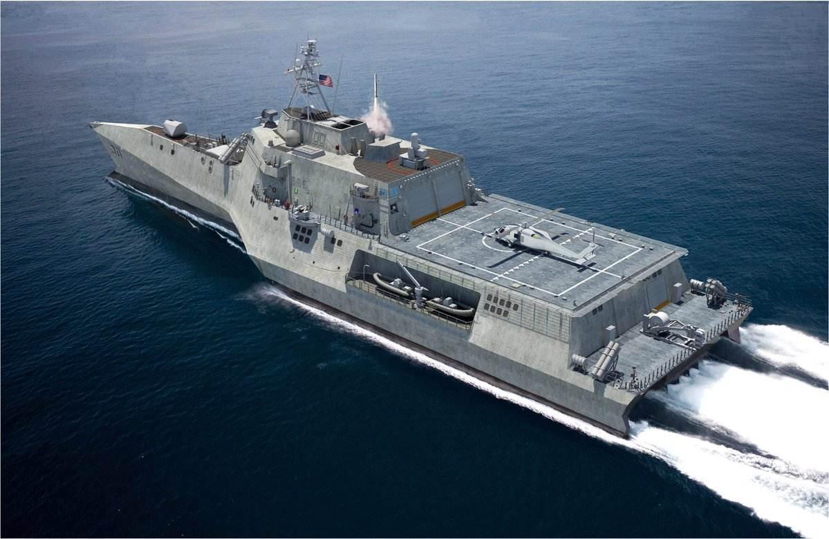 美海军将打造轻型舰艇 放弃濒海战斗舰思路