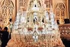 印尼奢华婚礼蛋糕5米高
