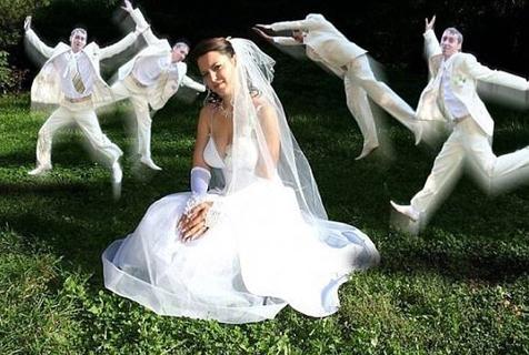 我只想安静拍个结婚照而已