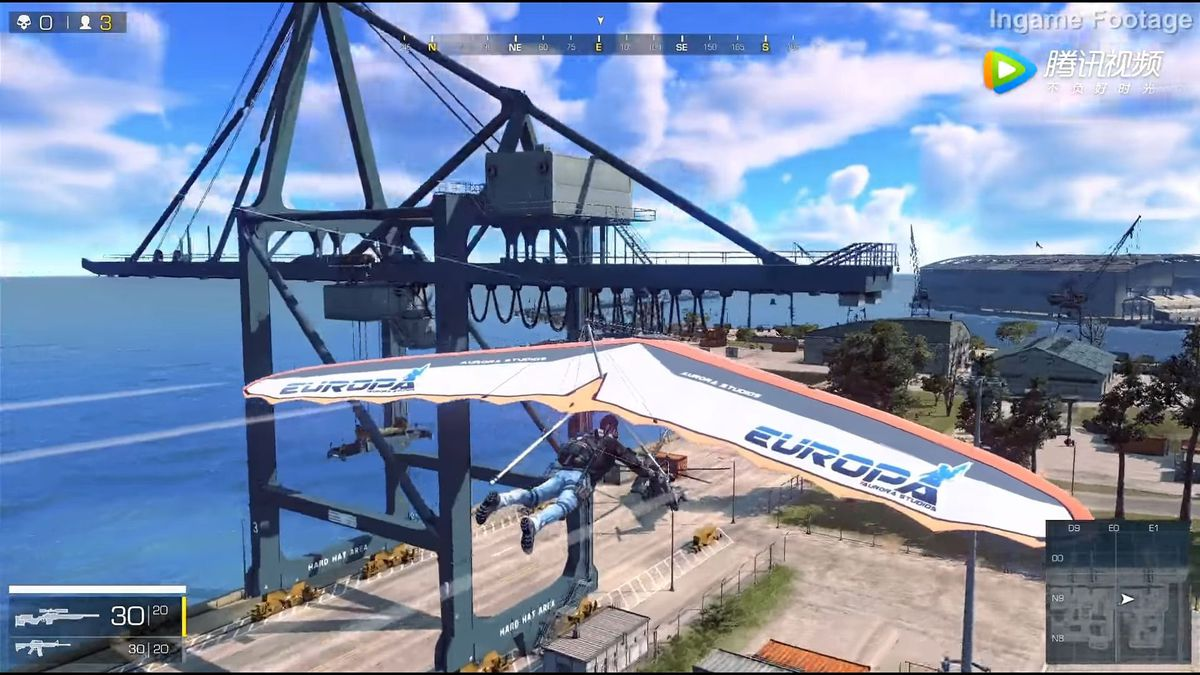 腾讯在国内发布新的逃生类游戏 预计2018年上线