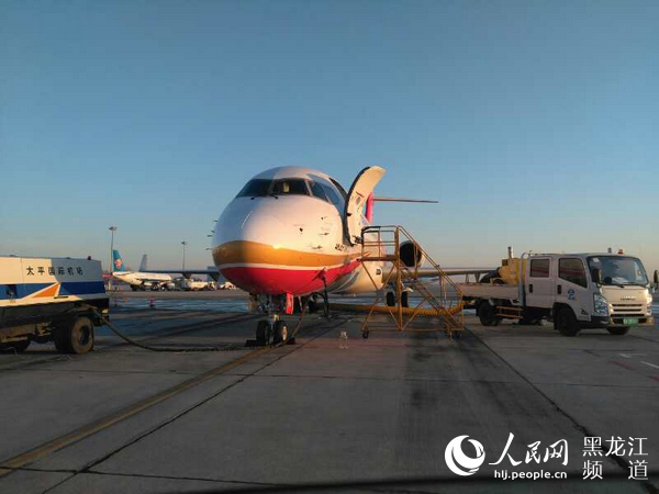 ARJ21支线喷气客机东北地区适应性飞行首飞成功