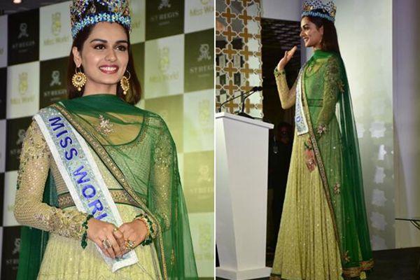 20岁印度小姐姐摘得2017世界小姐冠军