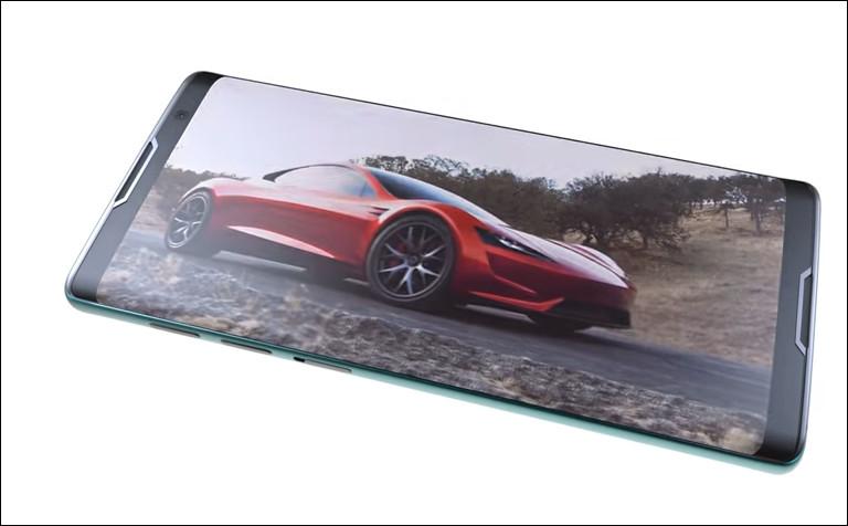 还在关注iPhone X?来看看这款特斯拉手机吧